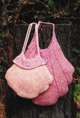 AC305 Scallop Purse & Knitting Bag