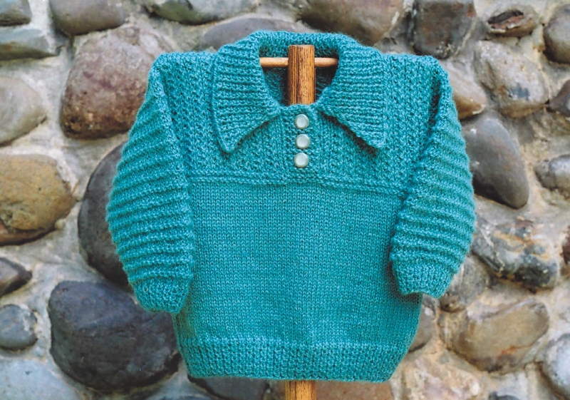 BB204 Polo Sweater
