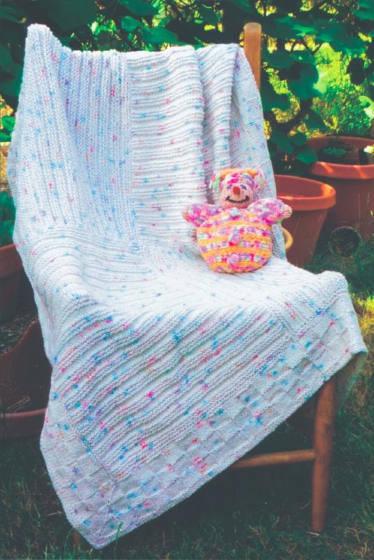 BB220 Foursquare Blanket